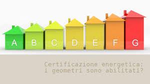 certificazione energia abitazione